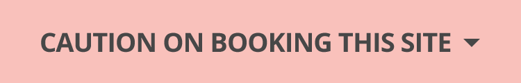 Caution on booking this site